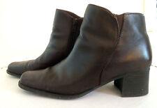 leather White Mountain fashion ankle brown chocolate boot US wmn 8m UK 6 EURO 39