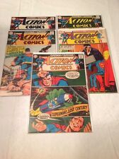 ACTION COMICS 370 371 372 374 375! HIGH GRADE SILVER AGE!! SUPERGIRL STORIES!