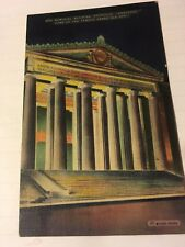 Vintage 1943 Postcard Nashville Tennessee War Memorial Building