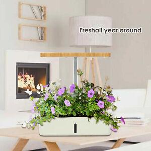 Indoor Herb Garden Kit Hydroponic Growing System Led Grow Light Plant Veg Flower