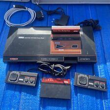 Sega Master System 1 Mit 2 Controller Und 2 Spielen