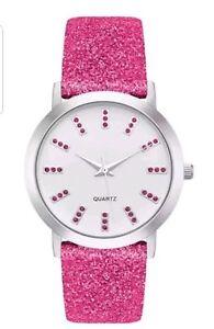 Avon Robin Glitter Watch - BNIB