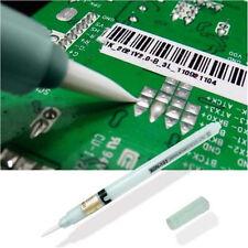 DZ1279 Flux Pen PCB Soldering Reflow Solder Tool Applicator Brush Head No Clean♫