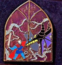 Disney Pins -DS UK - Sleeping Beauty Stained Glass Maleficent, Prince  - LE 800