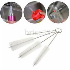 4Pcs Nylon Cleaning Brush Set Test Tube Bottle Straw Washing Cleaner Bristle Kit