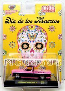 M2 Machines 1973 Chevrolet Custom Deluxe 10 Dia de los Muertos MiJo Exclusive