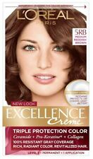 L'Oreal Paris Excellence Creme Permanent Hair Color 5 RB Medium Reddish Brown