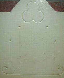Antique Keystone Decorative Art Stone Architectural Salvage Hardware Element 437