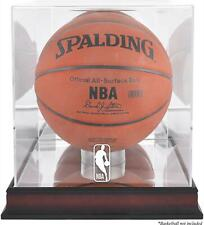 NBA (2018 - Present) Logo Mahogany Basketball Display Case - Fanatics