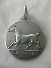 Antique Sterling Silver Hackney Horse Society Watch Fob Awards Medal 1910