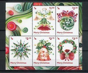 [309778] New Zealand 2017 Christmas good very fine MNH sheet