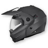 Caberg Tourmax DVS Helmet Motorcycle Scooter Bike Matt Black Enduro Adventure