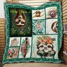 Sloth Quilt Blanket