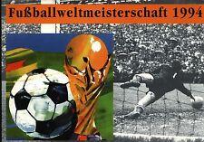 Fußball WM 1994, schönes Faltblatt der dt. Bundespost