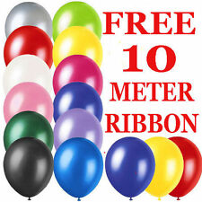 """WHOLESALE 25 x 10"""" LATEX  PLAIN BALLOONS BIRTHDAY AND MARRIAGE PARTY BALOONS"""