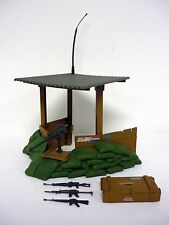 GI JOE OUTPOST DEFENDER Vintage Action Figure Playset 99% COMPLETE 1986