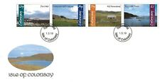 """GB Local stamps: Isle of Colonsay (2019): """"Colonsay Landscapes"""" first day cover"""