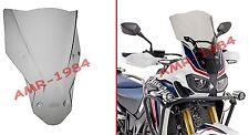 Spoiler Windschutzscheibe Honda CRF1000L Africa Twin 2016-2019 Givi D1144S Fumé