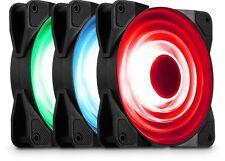 Jonsbo fr-531 120mm Ventola RGB, confezione da 3, fino a 1300 RPM, 42.9 CFM, 18.0 dB (A)