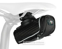 SciCon PHANTOM 230 Roller Carbon Bicycle Saddle Bag Under Seat Storage BLACK