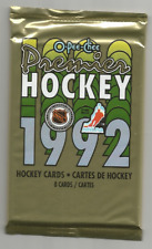 1991-92 O-Pee-Chee Premier Hockey Sealed Pack