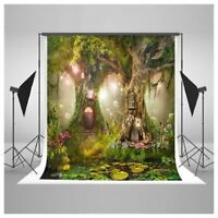 Photo Background 5X7FT Fairy Tale Photography Studio Props For Children Z9V8