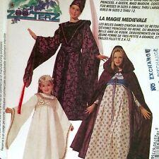 "Misses Medieval Costume Halloween Pattern 38-40"" Uncut McCalls 6775 Maiden Faire"
