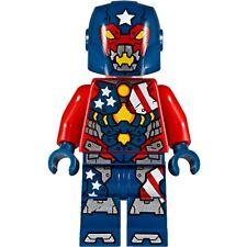 LEGO MARVEL SUPER HEROES IRON MAN MINIFIGURE JUSTIN HAMMER 76077 DETROIT STEEL