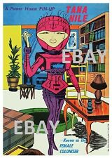 POWER PIN-UP Print - TANA NILE Thor Vintage Art Marvel UK Distribution