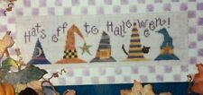 "Lizzie Kate Cross Stitch Chart ""Hats Off To Halloween"""