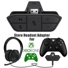 1x Stereo Headset Headphone Audio Game Adapter For Microsoft Xbox One Controller