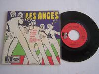 EP 45 T VINYL 4 TITRES , LES ANGES , IL FAUDRA LE PAYER . VG + / VG+