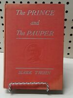 RARE The Prince And The Pauper Mark Twain 1909 HC Grosset & Dunlap VINTAGE