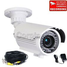 700TVL Security Camera w/ SONY Effio CCD IR Day Night Outdoor Varifocal Lens m8v