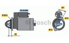 BOSCH Motor de arranque 2kW 12V VOLKSWAGEN PASSAT MERCEDES-BENZ 0 986 017 260