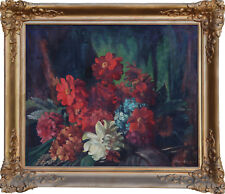 REGINALD JERROLD-NATHAN (1889-1979)RARE Oil Painting Still Life 1920 Max Meldrum