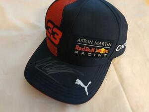 MAX VERSTAPPPEN 2020  SIGNED F1 R.ED BULL RBR ASTON MARTIN RACING DRIVERS CAP