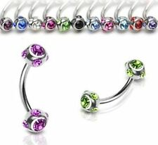 Body piercing sopracciglia , Diametro 4mm