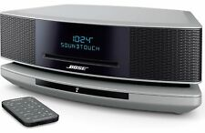 Bose Wave SoundTouch Music System IV w/ CD Player and Dual Alarm-PLATINUM SILVER