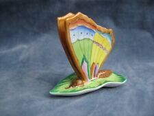 More details for herend hungary hand painted butterly place card holder