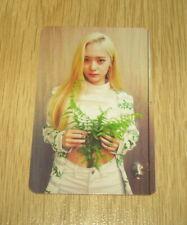 F(X) F X 3rd Album Red Light A Crystal Krystal Photo Card Official(2nd Press)