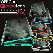360° Magnetic Anti-peep Double Side Glass Phone Case For iPhone 11 Pro Max XR X