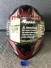 Shark S650 Full Face Motorcycle Helmet Size Large