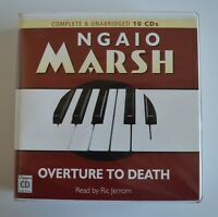 Overture to Death: by Ngaio Marsh - Unabridged Audiobook - 10CDs