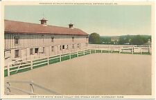 White Marsh Valley and Stable Court, Normandy Farm, Gwynedd Valley PA Postcard