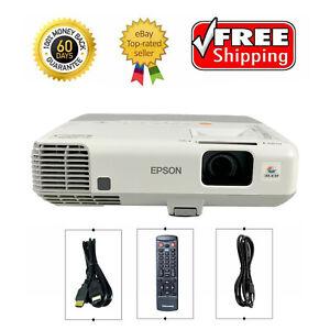 Epson PowerLite 95 3LCD Projector 2600 ANSI HD HDMI 1080i w/bundle Remote