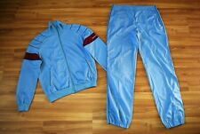 ADIDAS RETRO FULL TRACK SUIT JACKET TOP and PANTS MADE IN WEST GERMANY SZ LARGE