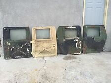 HUMVEE M998 HMMWV X-DOORS SET OF 4 - M1038 M1025 WATCH OUR YOUTUBE VIDEO