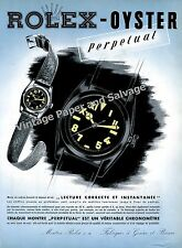 Vintage 1942 Rolex Oyster Perpetual Watch Advert Swiss Ad Rolex Watch Co. 1940s