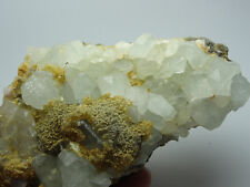Rare Palest Topaz with Mica on Matrix *China